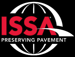 A logo for the ISSA.